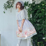 Angle~Printing Sweet Lolita Jumper skirt