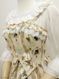 Ladies and gentlemen~Elegant Printing Lolita Jumper Skirt