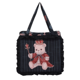 Coronation bear~Printing Lolita Pillow bag