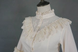 Evening of the gods~Elegant Vintage Lace Lolita Hime Blouse