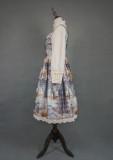 Evening of the gods~Elegant Vintage Lolita  Vest Dress