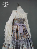 Evening of the gods~Elegant Vintage Lolita Jumper Skirt