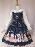 The harvest of the rabbit farm~Sweet Printing Lolita Jumper Skirt