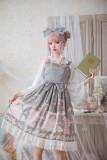 The test of pea kyi~Printing Sweet Lolita Jumper skirt