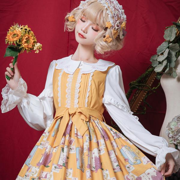 Spring/summer 2019 new Lovely  shirt lolita blouse