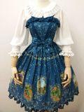 The tarot~Elegant Printing Lolita Jumper Skirt