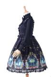 Swan lake~Sweet Printing Lolita Jumper Skirt