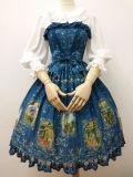 The tarot~Elegant Printing Lolita Jumper Skirt