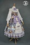 Evening of the gods~Elegant Vintage Lolita OP Dress