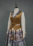 Evening of the gods~Elegant Vintage Lolita Vest