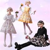 Spring cane~Sweet Lolita Jumper Skirt