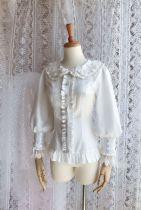 Sweet doll collar and Long sleeve chiffon lolita blouse