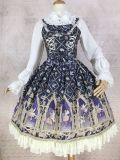 Sweet Lolita blouse with Stand collar lantern sleeve