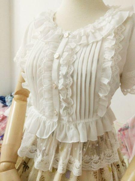 Summer Sweet Short Sleeve Lolita Bouse  Lolita shirt