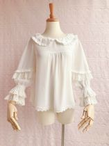 Lovely chiffon doll collar Lolita blouse
