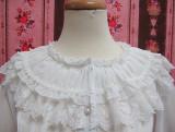 Elegant Vintage Lolita  Chiffon Lace Blouse