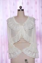 Chiffon long sleeve loliat blouse
