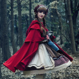 Little red riding hood~Long Sleeves Lolita OP Dress