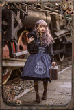 Magic circle~Embroidery Steampunk Jumper Skirt