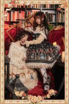 Thread doll~Printing Lolita Jumper Skirt