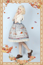 Infanta*The little squirrel pick berries* Lolita Jsk dress