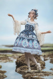 Little mermaid~Printing Lolita Jumper Skirt