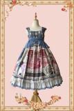 The opera house~Printing Lolita Jumper Skirt