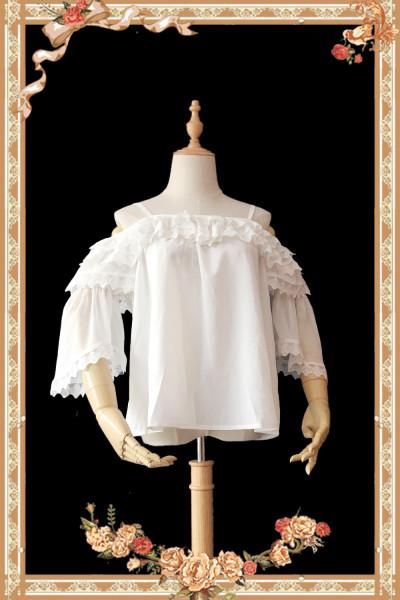 Antique dress shop~Sweet Lolita Long Sleeves Blouse