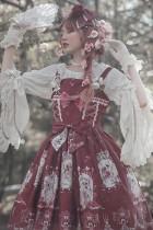 Long hair princess~Printing Daily Lolita JSK Dress