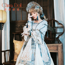 China Doll~Long Sleeves Qi Lolita OP Dress