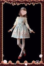 The nurse bears~Printing  Lolita Suspender skirt
