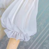 S/S Sweet Chiffon Lolita Puff Sleeve Shirt