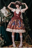 The heart of a mech~Printing Lolita JSK Dress