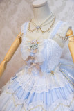 Frost dance~Teaparty Dressy~Gorgeous Lolita Jumper Skirt