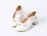Star shells~Lolita bow-tied princess student girl shoes