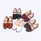 Top student~Lolita bow-tied princess student girl shoes