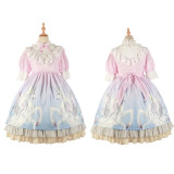 Pegasus~Print Sweet Lolita OP Dress  Version Ⅲ
