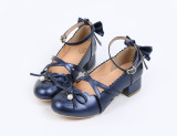 Butterfly love~Lolita bow-tied princess student girl shoes