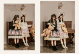 Astrology cat~Printing Sweet Lolita OP Dress