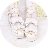 Glittering stars~Lolita bow-tied princess student girl shoes