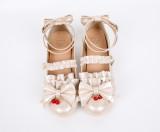 Jam girl~Lolita bow-tied princess student girl shoes