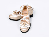 Snow white~Lolita bow-tied princess student girl shoes Version Ⅱ