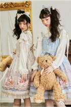 Astrology cat~Printing Sweet Lolita Jsk Dress