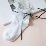 A/W Japanese Style Cotton Lace  Ribbon Lolita Sock