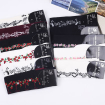 New A/W Japanese Style Flowers Cotton  Lolita Stocking