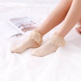 A/W Japanese Style Cotton Lace Lolita Sock