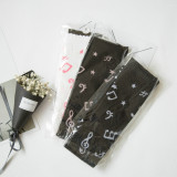 New A/W Japanese Style Notes Cotton  Lolita Stocking