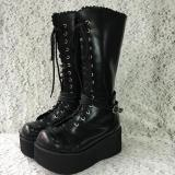 Japanese Style Punk Goth Boots