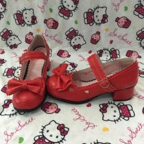 Sweet Princess Lolita Heart Lace  Shoe