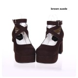 【 Angelic imprint】Classical Lolita Shoes Princess Shoes With High Heels